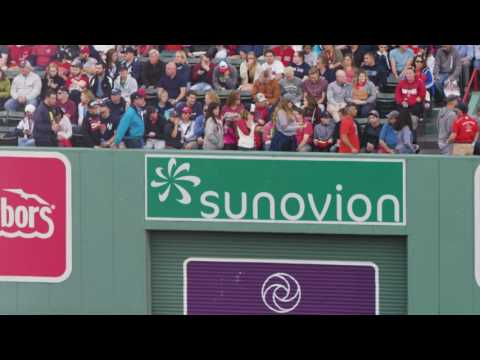 Sunovion's Partnership with the Red Sox/Fenway