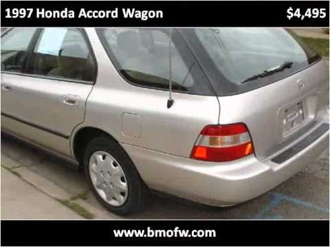1997 Honda Accord Wagon Used Cars Chicago IL