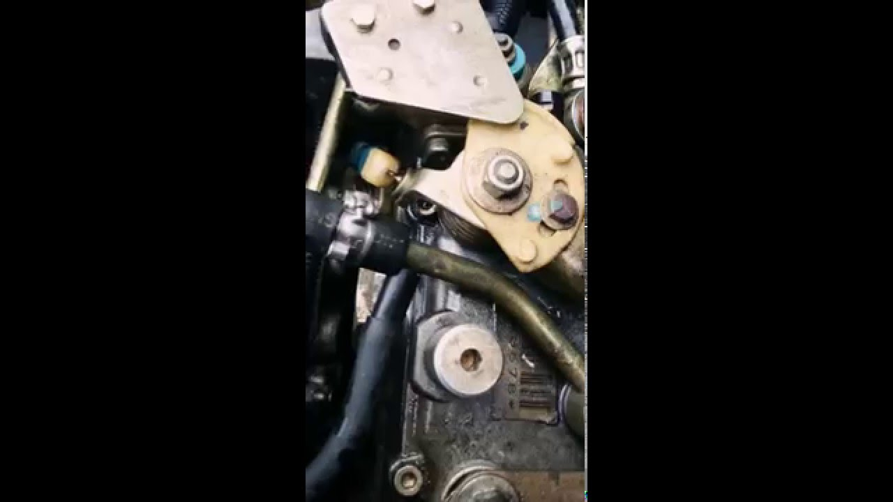 clio 1 9 d fuite pompe injection youtube