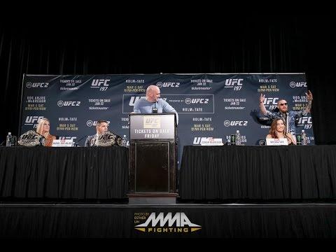 UFC 197 Press Conference