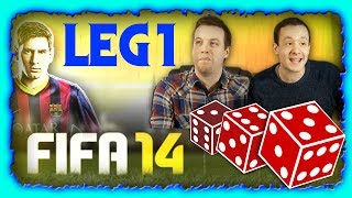 NEXT GEN FIFA 14 - LUCK OF THE DICE *FINALE* LEG 1 - XBOX ONE!