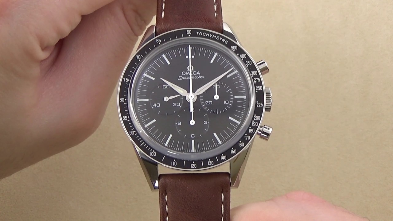 Omega Speedmaster Moonwatch First Omega In Space Edition Review