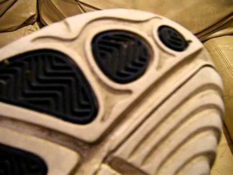 2f4e34f3967 Nike Air Penny 4 IV Original 1998 White Black Blue used size 14 ...