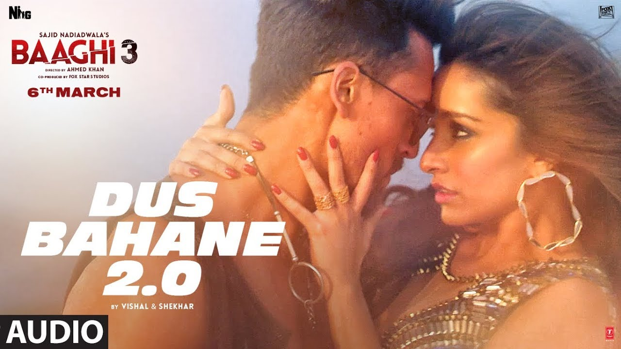 Dus Bahane 2 – Baaghi 3 Mp3 Hindi Song 2019 Free Download