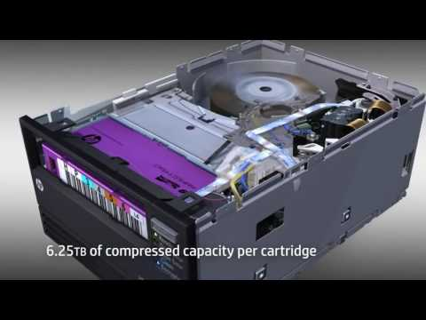 How It's Works Tape Drive HP LTO 6