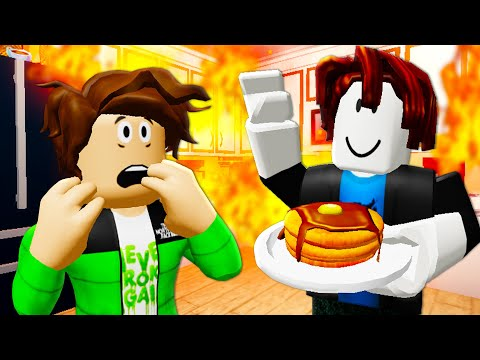 He Was Adopted By A Noob! A Roblox Movie (Story)