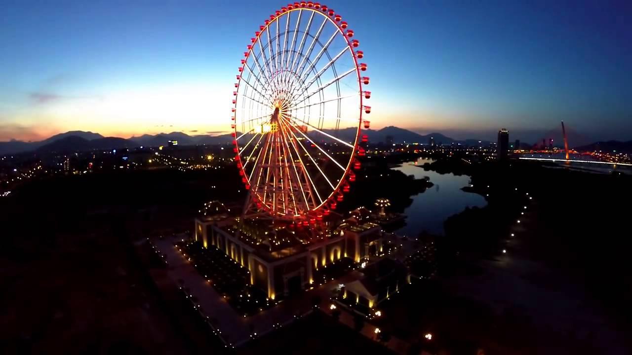 sun wheel - địa điểm chơi đêm ở Đà Nẵng