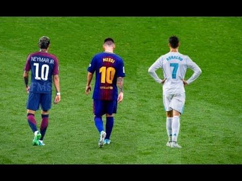 Messi vs Ronaldo vs Neymar ? The Battle of Rivals 2018
