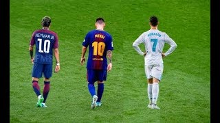Messi vs Ronaldo vs Neymar  The Battle of Rivals 2018