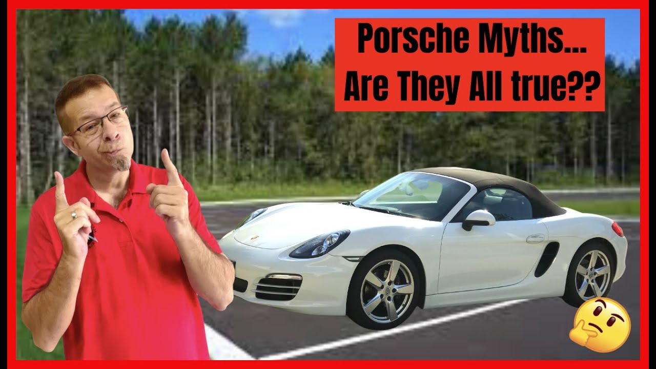 Porsche Boxster Ownership Myths Answered Subscribe For More