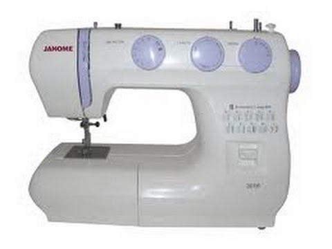 Maquina de Coser Janome 3016LE - YouTube
