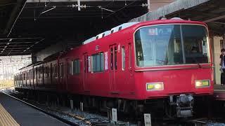 [6R特急]名鉄6500系金魚鉢 6523f(特急内海行き)神宮前駅 発車‼️