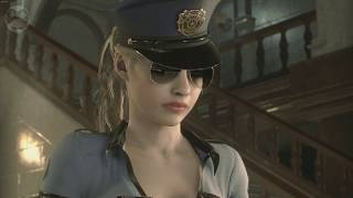RESIDENT EVIL 2 RE Claire Redfield Claire Bad Cop Costume
