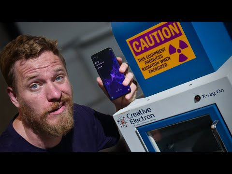 Real or fake? I X-rayed my Samsung Galaxy Phone to find out!