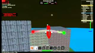 Roblox Plane- Final Round- Part 1- OHHHHH PERFECT LANDING!!!!!