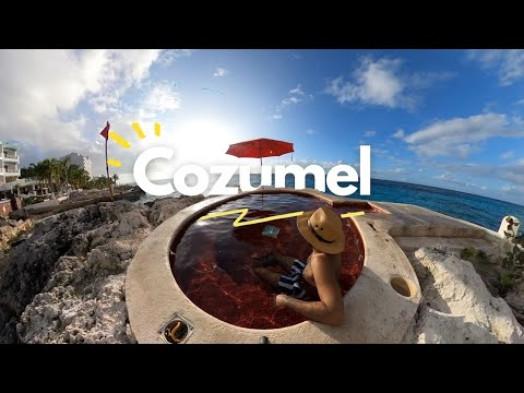 Tour en JEEP 4x4 por la isla de COZUMEL🪂🚙 Hotel B Cozumel