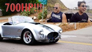 Driving a 700HP Superformance Cobra was Terrifying!