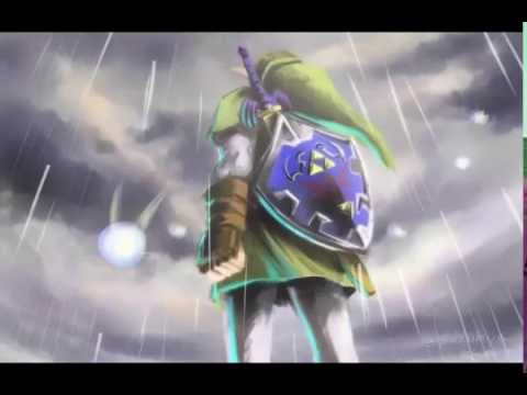 The Legend of Zelda -Song of Storms with rain