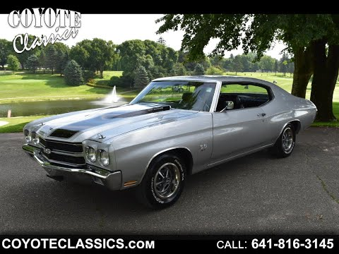 1970 Chevelle SS For Sale At Coyote Classics!!