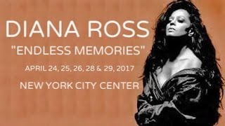 Diana Ross Endless Memories At New York City Center 2017 (Full Concert)