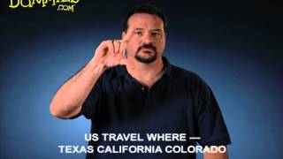 Discussing Travel in American Sign Language (ASL) - For Dummies