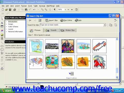publisher 2003 tutorial inserting clip art 2000 microsoft training rh youtube com microsoft publisher clipart microsoft publisher clipart free download