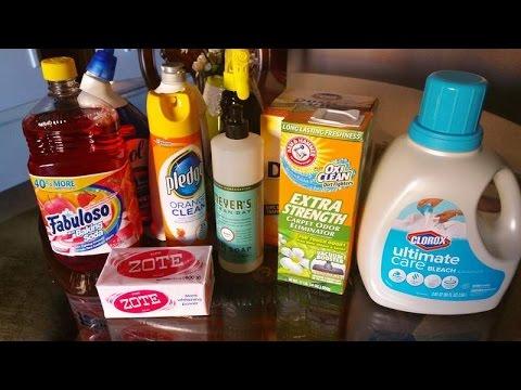 Mis productos de limpieza rosa pastel doovi for Productos limpieza coche mercadona