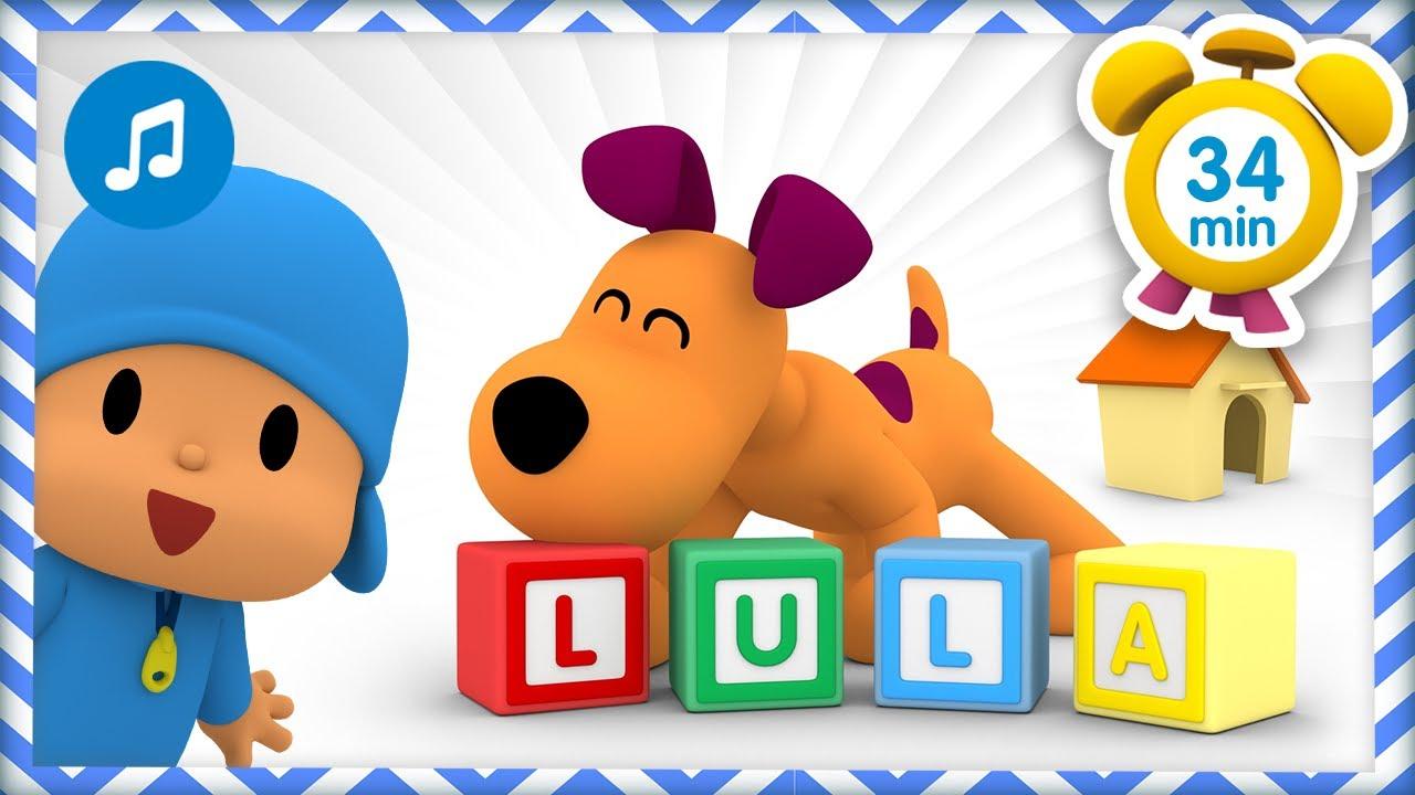 🐕 🎶 LULA 🎶🐕 [ 34 minutes ] | Nursery Rhymes & Baby Songs - Pocoyo