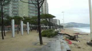 Temporal Costa Brava: olas 8 metros Diciembre 08