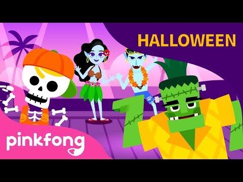Fantasma en la Costa | Canciones de Halloween | Pinkfong Canciones Infantiles