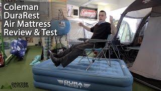 Coleman Durarest Air Mattress Review and Test