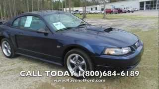 2002 FORD MUSTANG GT REVIEW * Leather * 5 speed * For Sale @ Ravenel Ford * Charleston