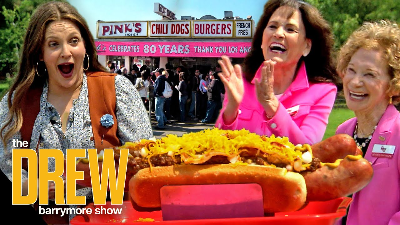 Drew and Ross Are Getting Their Own Drew's News Hot Dog from Hollywood Staple Pink's