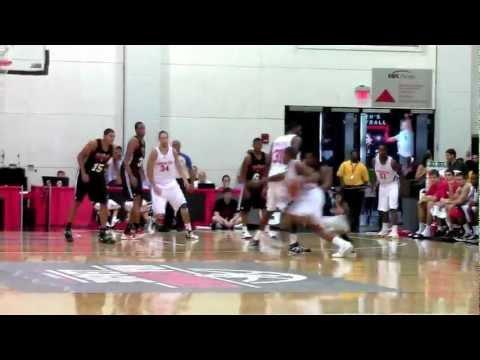 Bradley Beal assist to Steven Gray - NBA Summer League - Washington Wizards