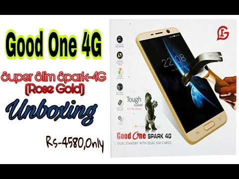 GOOD ONE SPARK 4G Low Price 4G Phone Full  Unboxing