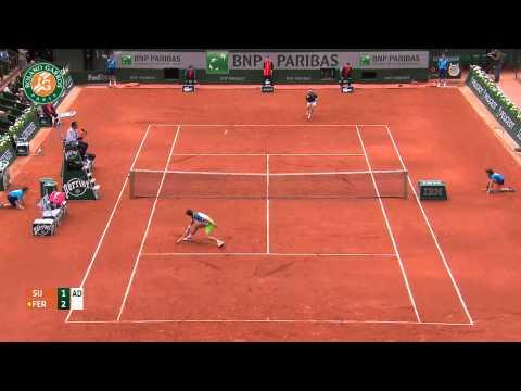 Roland Garros 2014 Tuesday Highlights Ferrer Sijsling