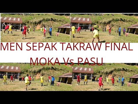 MEN SEPAK TAKRAW | FINAL | MOKA VS PASU| KSU SPORTS MEET 2019
