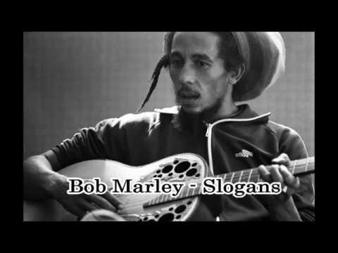 Bob Marley - Slogans (with lyrics)