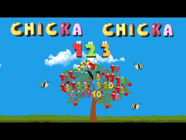 Chicka Chicka 123 Song And Animation For Kids Youtube