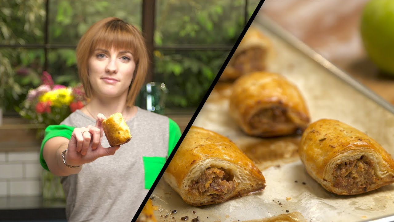 Apple Sausage Rolls | Julie Nolke