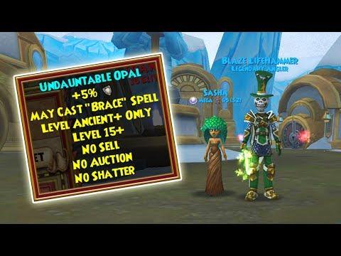 Wizard101: NEW WARD PET JEWEL! - Undauntable Opal