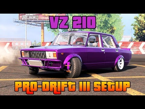 VZ 210 Pro-Drift III Custom Setup (VAZ 2107) | CarX Drift Racing 2