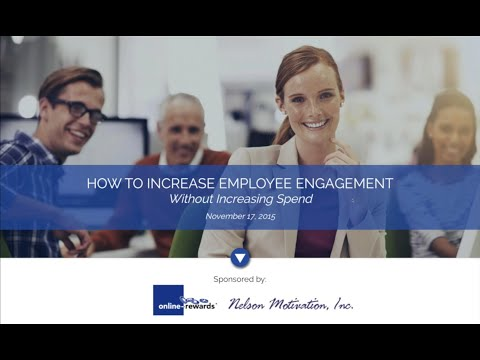 On-Demand Webinar: Increase Employee Engagement and Profitability Without Increasing Your Spend
