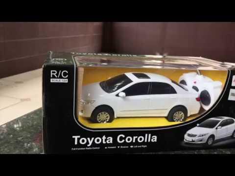 R C Cast Unboxing 2017 Toyota Corolla Altist 1 24 20 Rc Car