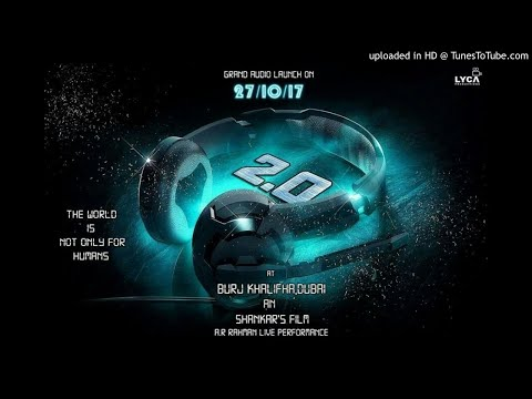 Enthiran 2.0 Official Full Mp3 Tamil Song || Endira Logathu || Rajinikanth, AmyJackson, Akshay Kumar