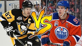 Is Connor McDavid Better Than Sidney Crosby? NHL 18