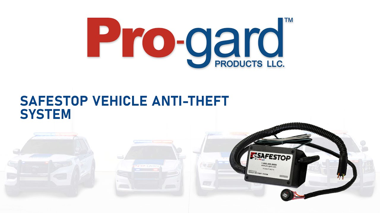 Safestop Vehicle Anti-theft System for Law Enforcement
