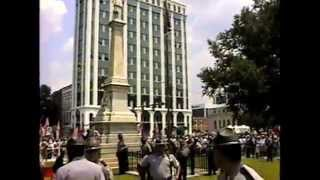 Confederate Flag S.C. State House Lowering/Raising 2000  ★ RAW VIDEO