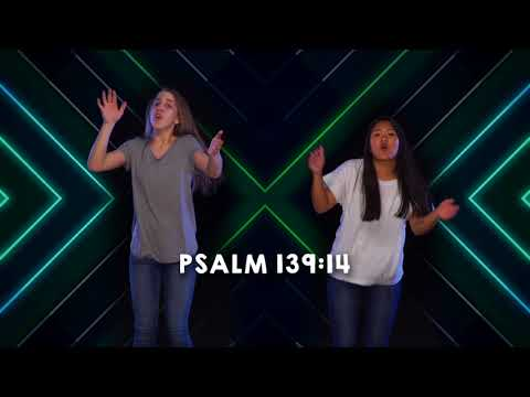 Psalm 139:14 Lyric & Dance Video
