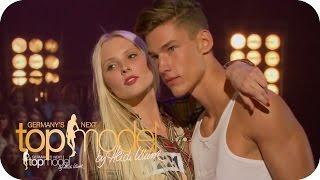 """""""Ich habe das Gefühl, du hast ein ganz tolles Gesicht""""   Germany's next Topmodel 2015    ProSieben"""